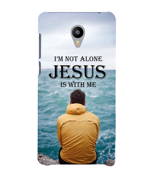 Jesus is with Me Back Cover for Meizu M3 Note