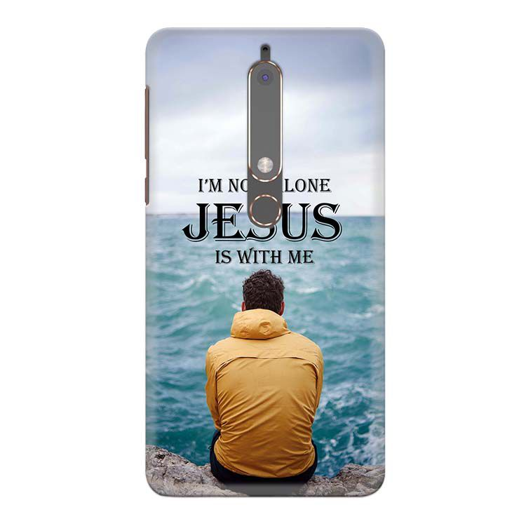 Jesus is with Me Back Cover for Nokia 6 (2018)