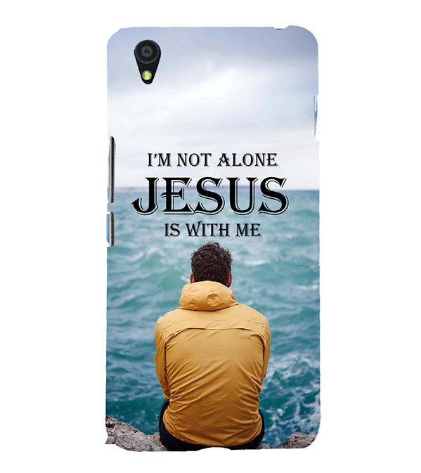 Jesus is with Me Back Cover for OnePlus X