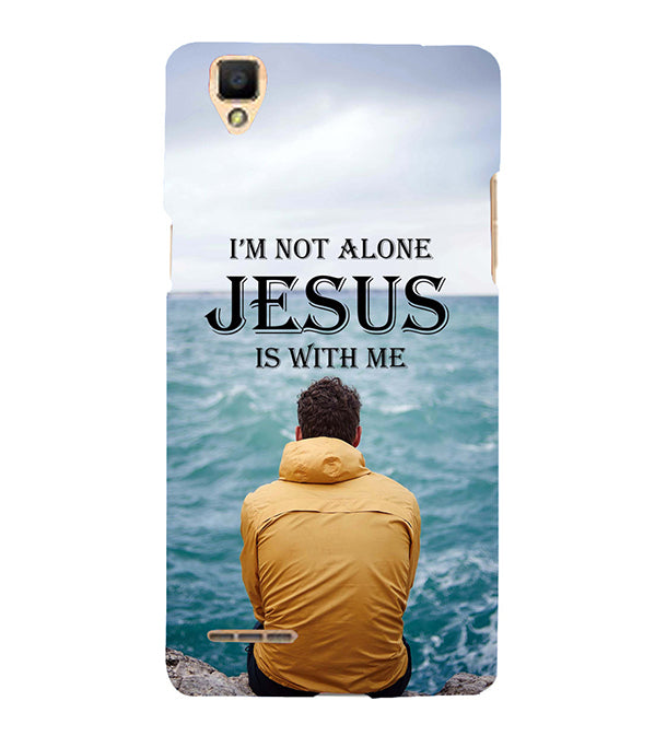 Jesus is with Me Back Cover for Oppo F1