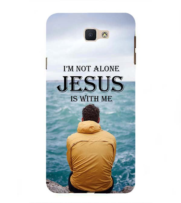 Jesus is with Me Back Cover for Samsung Galaxy J7 Prime (2016)