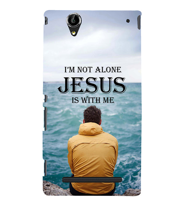 Jesus is with Me Back Cover for Sony Xperia T2