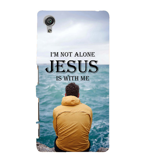 Jesus is with Me Back Cover for Sony Xperia X