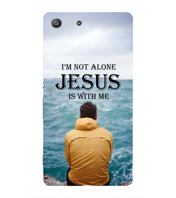 Jesus is with Me Back Cover for Sony Xperia Z3 Compact