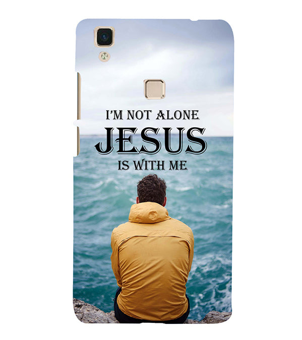 Jesus is with Me Back Cover for Vivo V3Max