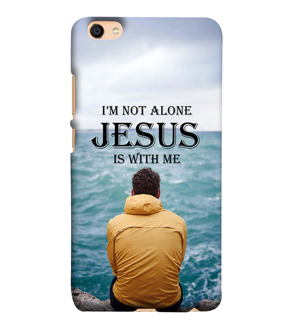 Jesus is with Me Back Cover for Vivo V5 : V5s
