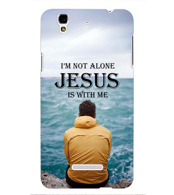 Jesus is with Me Back Cover for Yu Yureka Plus