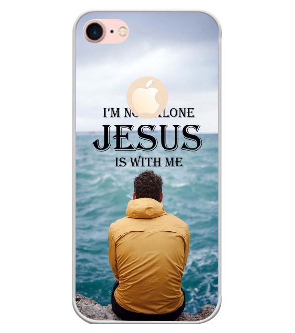 Jesus is with Me Back Cover for Apple iPhone 7 (Logo)-Image3