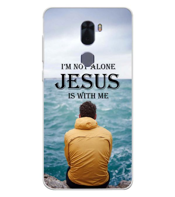 Jesus is with Me Soft Silicone Back Cover for Coolpad Cool 1