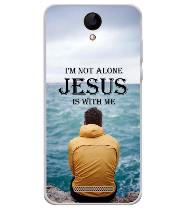 Jesus is with Me Soft Silicone Back Cover for iVOOMi 505