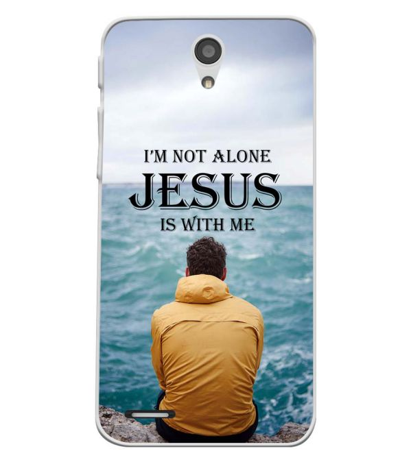 Jesus is with Me Soft Silicone Back Cover for InFocus M260