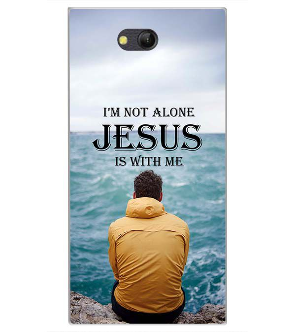 Jesus is with Me Back Cover for LYF Wind 4