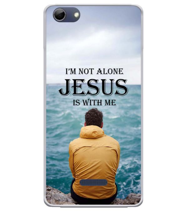 Jesus is with Me Soft Silicone Back Cover for Micromax Selfie 3 Q348