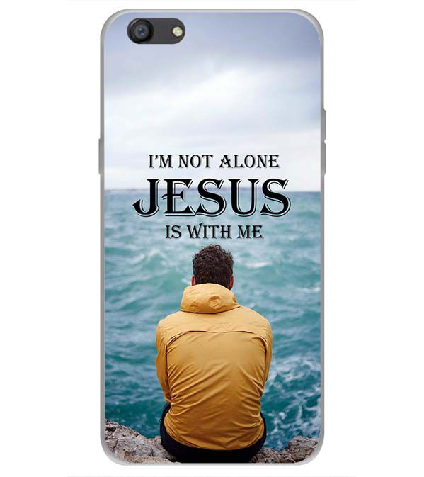 Jesus is with Me Back Cover for Oppo A77