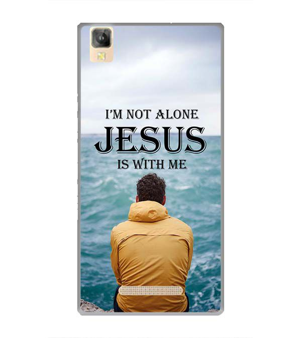 Jesus is with Me Back Cover for Panasonic Eluga A2
