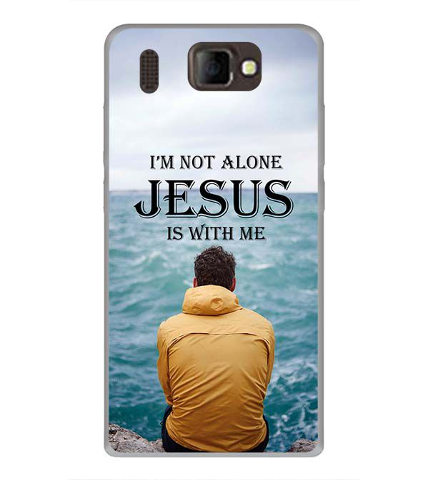 Jesus is with Me Back Cover for Panasonic P66 Mega