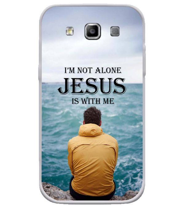Jesus is with Me Soft Silicone Back Cover for Samsung Galaxy Grand Quattro 8552