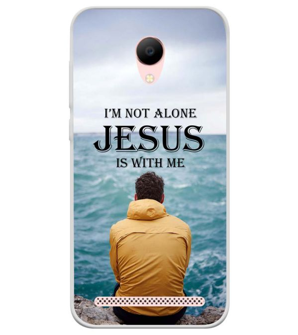 Jesus is with Me Soft Silicone Back Cover for Voto V2