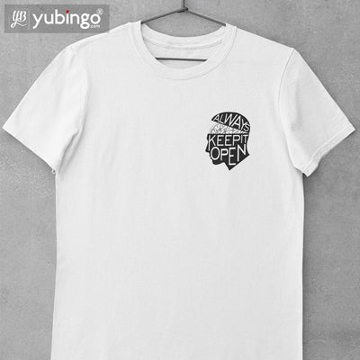 Keep Mind Open T-Shirt-White