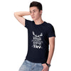 Keep Trying Men T-Shirt-Navy Blue