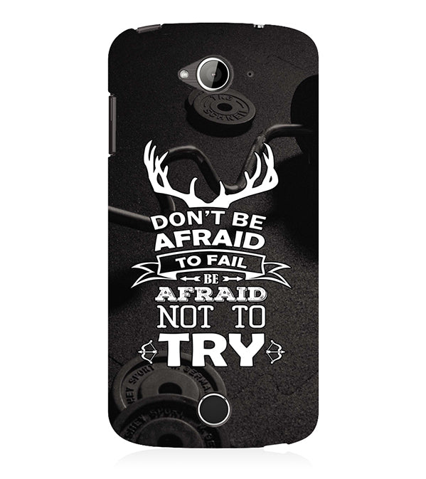 Keep Trying Back Cover for Acer Liquid Zade 530