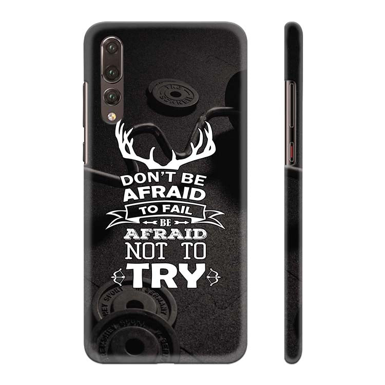Keep Trying Back Cover for Huawei P20 Pro
