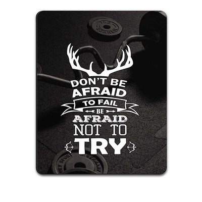 Keep Trying Mouse Pad