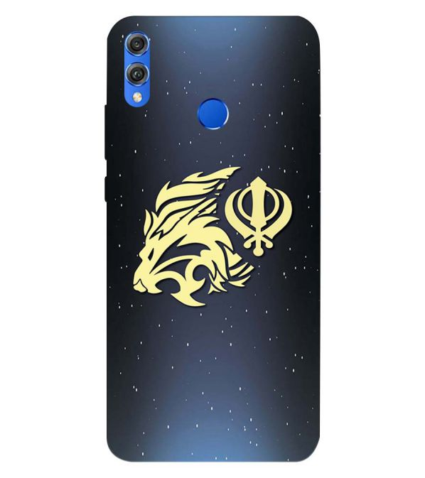 Khanda Sahib Back Cover for Huawei Honor 8X