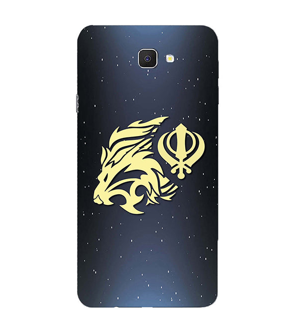 Khanda Sahib Back Cover for Samsung Galaxy C9 Pro