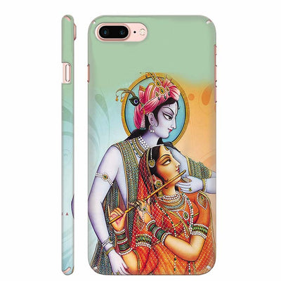 Krishna And Radha Back Cover for Apple iPhone 8 Plus