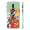 Krishna And Radha Back Cover for OnePlus 6