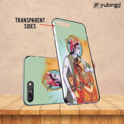 Krishna And Radha Soft Silicone Back Cover for Huawei Y9 (2019)-Image3