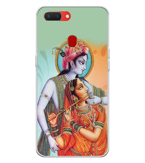 Krishna And Radha Back Cover for Oppo Realme 2-Image3