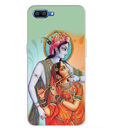 Krishna And Radha Back Cover for Realme C1 (2019)-Image3