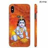 Krishna With Ladoos Back Cover for Apple iPhone X
