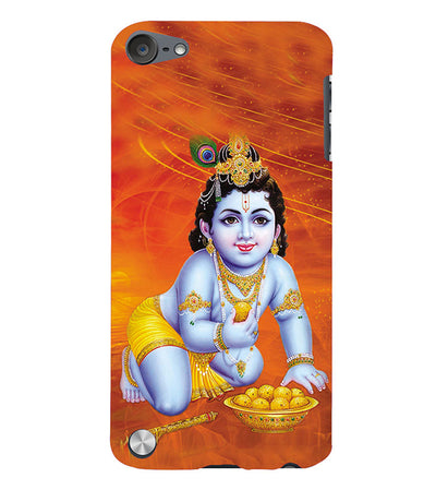 Krishna With Ladoos Back Cover for Apple iPod Touch 5