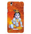 Krishna With Ladoos Back Cover for Yu Yureka Plus