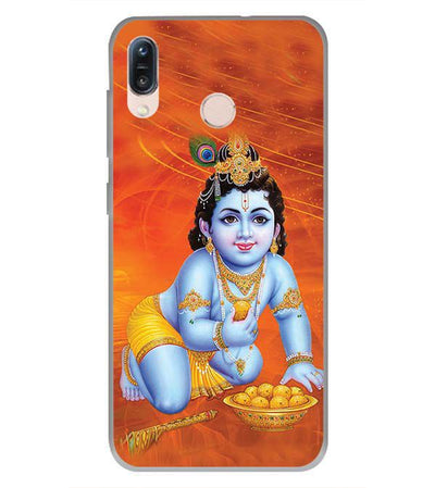Krishna With Ladoos Back Cover for Asus Zenfone Max Pro M1