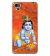 Krishna With Ladoos Back Cover for Karbonn Aura Note 4G