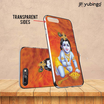 Krishna With Ladoos Back Cover for Karbonn Aura Note 4G-Image3