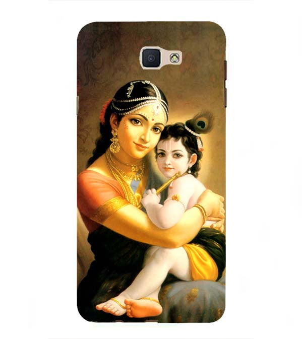 Krishna With Yashoda Back Cover for Samsung Galaxy J7 Prime (2016)