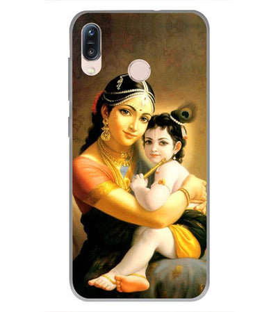 Krishna With Yashoda Back Cover for Asus Zenfone Max Pro M1