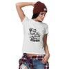 Learn To Break Rules Women T-Shirt-White