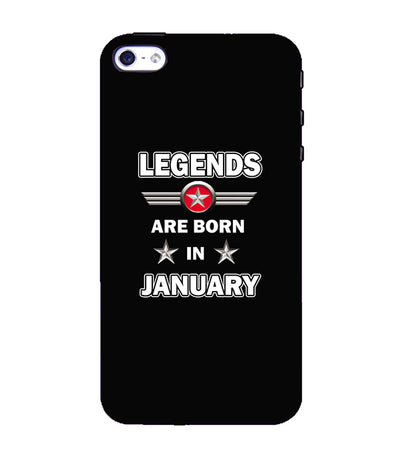 Legends Customised Back Cover for Apple iPhone 4 : 4S