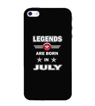 Legends Customised Back Cover for Apple iPhone 4 : 4S-Image3