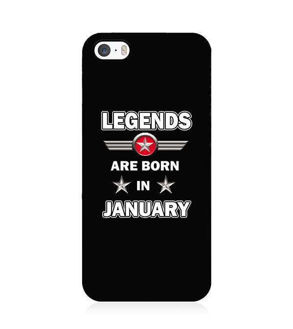 Legends Customised Back Cover for Apple iPhone 5 and iPhone 5S and iPhone SE
