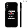 Legends Customised Back Cover for Apple iPhone X