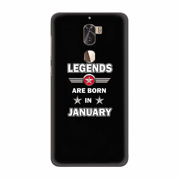 Legends Customised Back Cover for Coolpad Cool 1