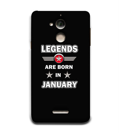 Legends Customised Back Cover for Coolpad Note 5