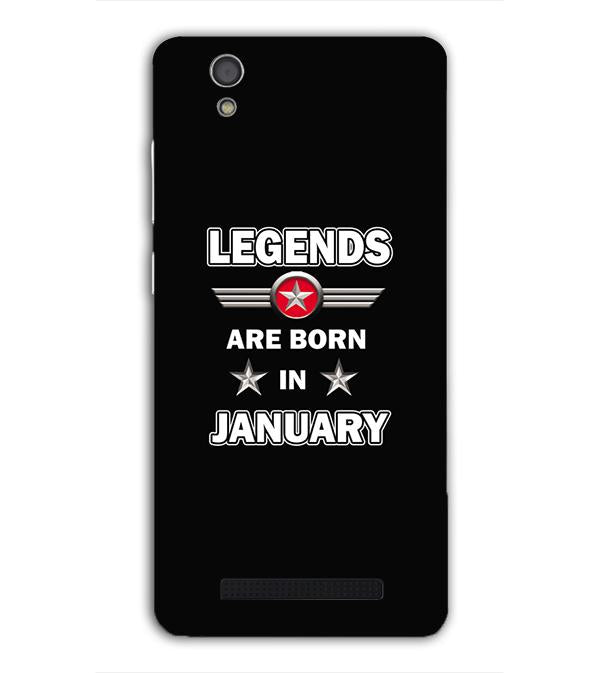Legends Customised Back Cover for Gionee F103